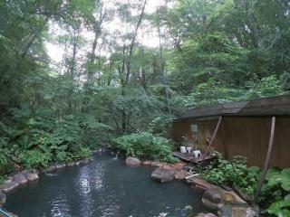 キャンプで汗かいたら温泉にGO!