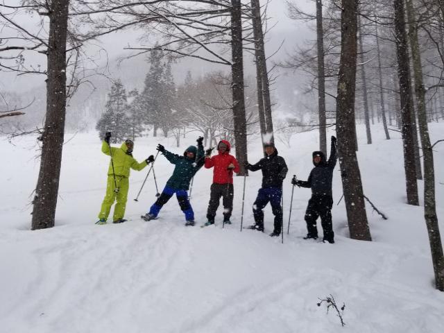 【冬のアクティビティ】スノーシュー 体験半日コース イメ-ジ