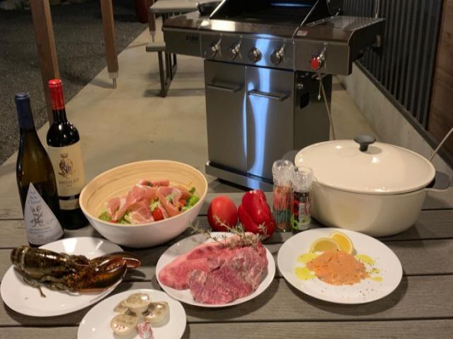 【完全貸切】グランピングコテージ(1泊2食)増田牛ステーキ付 4名~7名名 イメ-ジ