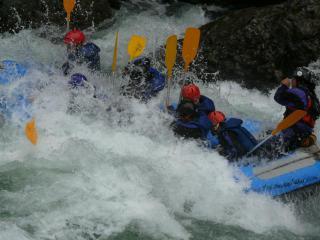 水上ラフティング1日コース イメ-ジ