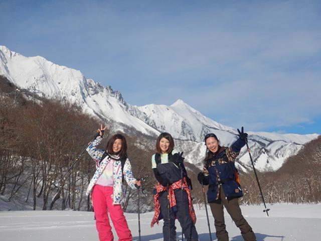 【最大3グループ貸切】スノーシュー半日コース2~5名様(みなかみ)|写真